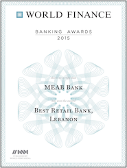 Best Retail Bank in Lebanon (2015)